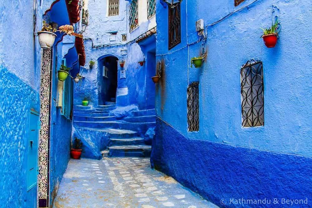 blue city, chefchaouen, morocco, chauen